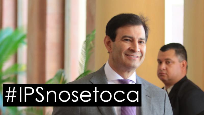 """#IPSnosetoca Silvio """"trato apu´a"""" Ovelar busca utilizar dinero de IPS para pagar salarios"""