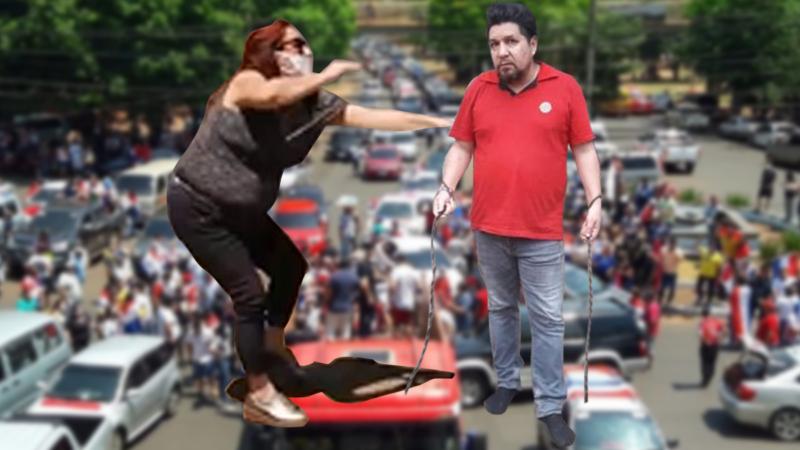 """""""Kelembu"""" Celso Miranda involucrado nuevamente en incidente con protestantes en CDE."""