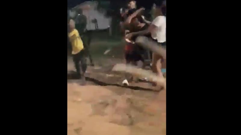 Video: Un Hombre fue macheteado en Itauguá