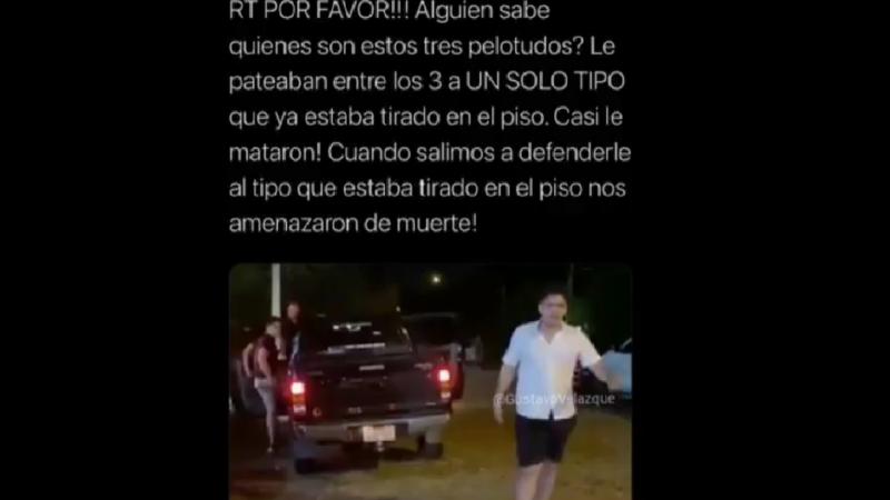 Pelea en Sanber: Hijo de consejero de Yacyretá involucrado.