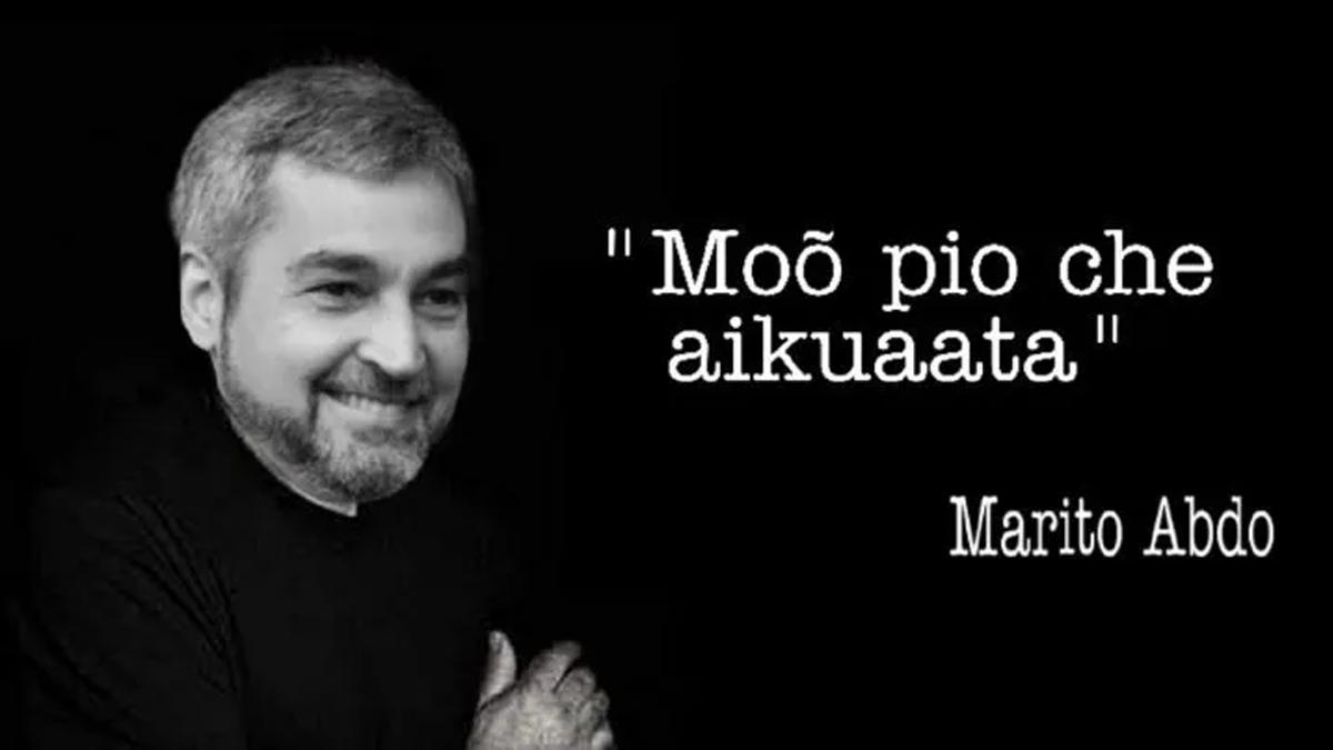 Marito confirmó en conferencia de prensa que sigue viviendo en un termo. Hablo mucho y no dijo nada.