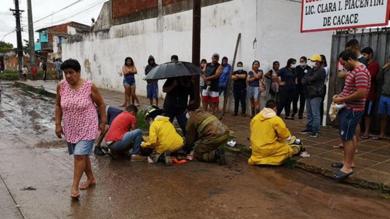 Recolector de basura de Asunción aplastado por el camión no falleció