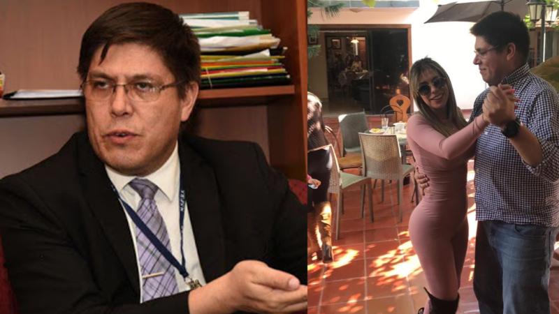 Video: Viceministro de Salud «farreando» en cumpleaños de modelo y sin cumplir el protocolo.