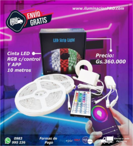 luces led para gamers